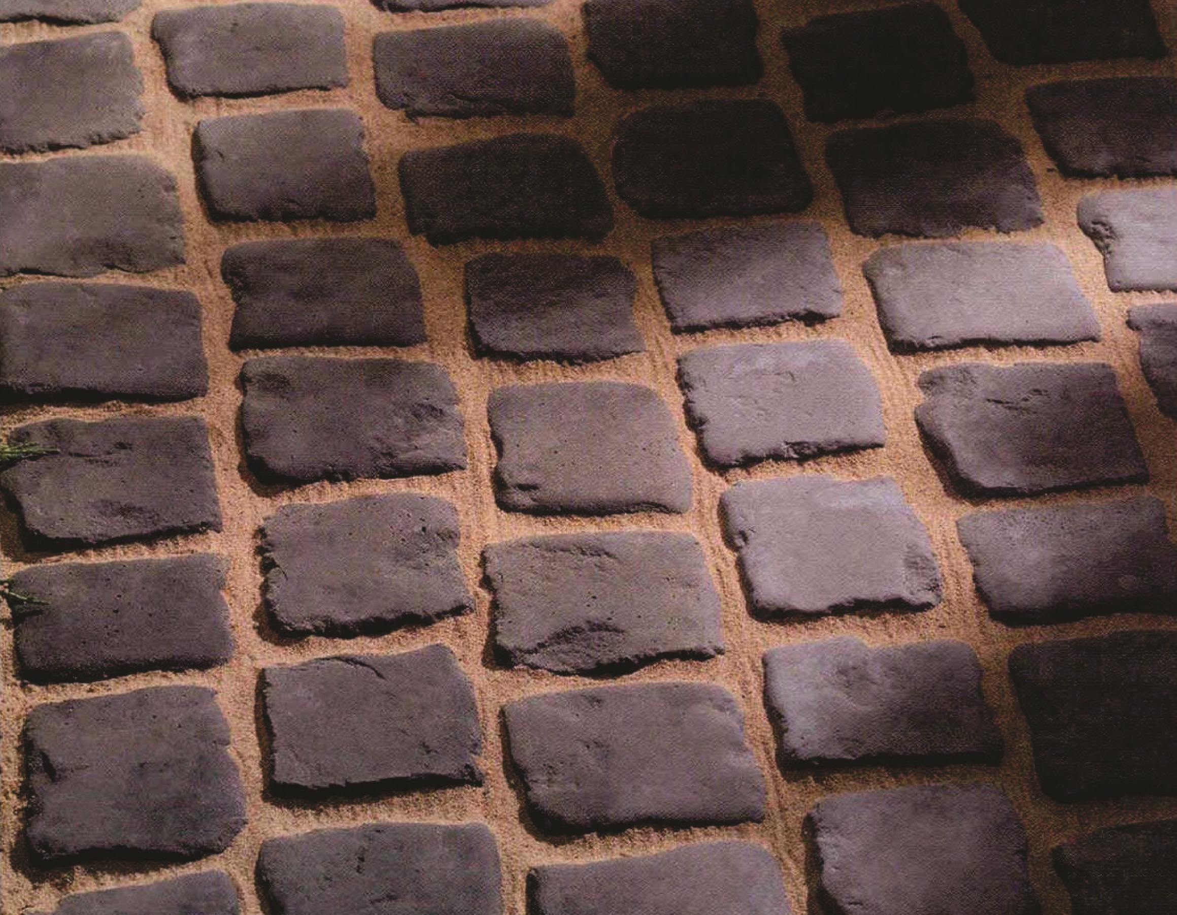 5 - Numold String Paver Cobble Moulds